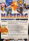2018-09: Poster for Maredkijk party, A2, full colour